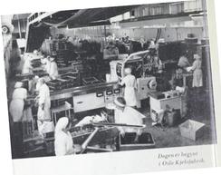 Faksimile fra jubileumsboken om Oslo Kjeksfabrikk, 1963