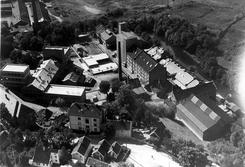 Lilleborgfabrikken i 1936. Foto: Oslo Byarkiv