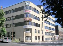 I den borteste delen av denne bygningen i Malmøgt 7 holdt Tandberg til mellom 1937 og 1951 (Foto: Dag Andreassen / NTM)