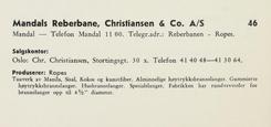 Presentasjon av bedriften fra Norske Tekstiler (1963)