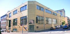 Delene av Bergene-fabrikken som vender mot Marstrandgata ble bygd om til teater for Black Box teater