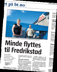 Det ble en stor sak i lokalpressen da det ble kjent at Bergens-stoltheten Minde skulle flyttes til Østlandet. Foto: Faksimile, Bergens Tidende<br>