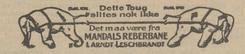 Avisannonse fra Nordkapp 11. 11 1917