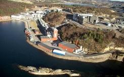 GE HEalthcare (Nyco) fabrikk på LindesnesFoto: GE Norge<br>