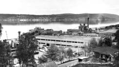 Eksteriør fra nybyggingen på Nøsted 1970/71Foto: Made In Drammen<br>