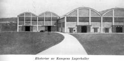 Kampens Lagerhaller (1955), som stålverkshallene ble hetende fra 1938 da de ble overtatt som lagerhaller for bilfirmaet Kolberg & Caspari