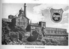RIngnes hovedfsade mot Akerselva, slik de ble presentert i Næringsleksikon fra 1957