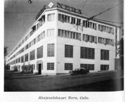 Fabrikken på Bislet i 1957