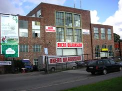 Per Kure-fabrikken på Hasle i 2006, som lokale for Økern BilauksjonFoto: Dag Andreassen, NTM 2006<br>