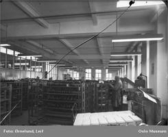Fabrikken i 1949 fotografert av Leif Ørnelund. Foto: Oslo Museum/www.oslobilder.no