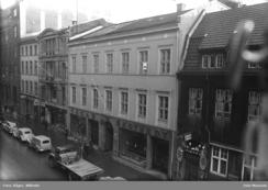 Skotvedts maskinforretning, Kirkegata 10Foto: Råger, Wilhelm / Oslo Museum<br>