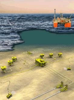 Utbyggingen av Troll Olje ga store kontrakter til KværnerFoto: Aker / Hydro<br>