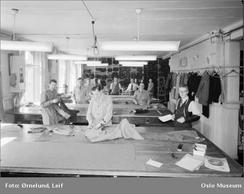 Fabrikken fotografert av Leif Ørnelund i 1953. Foto: Oslo Museum/www.oslobilder.no