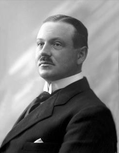 Peder Mandrup Tuxen Abel (1874-1950). Styremedlem i A/S Laboratoriet og første fabrikkdirektør i Nordisk Aluminiumindustri i HolmestrandFoto: Norsk Folkemuseum / Borgensamlingen NFB41838<br>