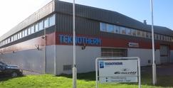 Fabrikkbygningen i Sørliveien 90Foto: Teknotherm<br>