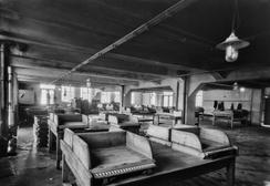 Interiør fra fabrikken ca, 1924Foto: Atelier KK, UB Bergen, Bildesamligen<br>