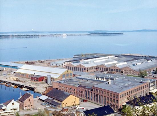 Fabrikken i 1965 (Ingressbilde)