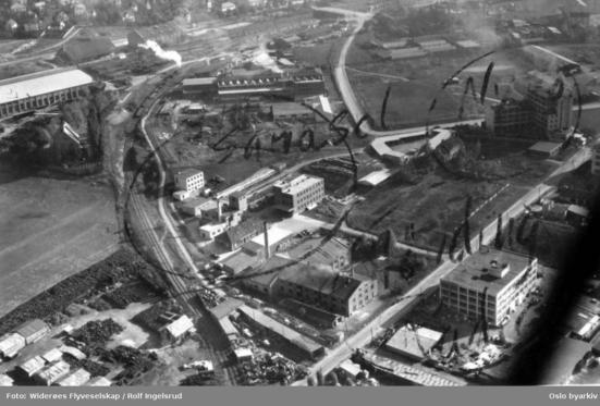 Collett-fabrikken på Sandaker / Nydalen (Ingressbilde)