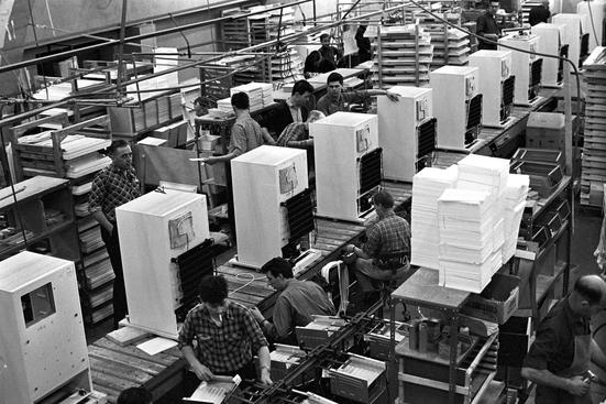 Kjøleskapproduksjon i 1967 (Ingressbilde)