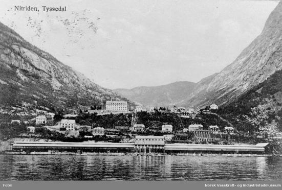 DNN Tyssedal 1916 (Ingressbilde)