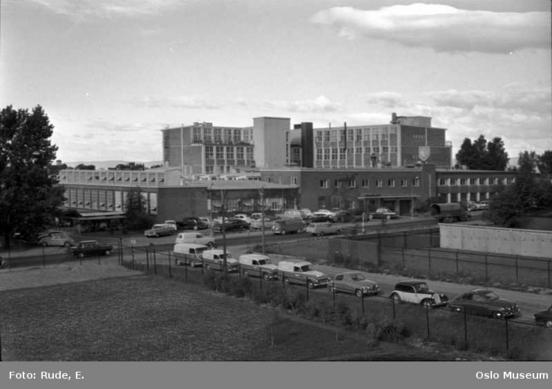 Emaljefabrikken i Lørenveien på Hasle i 1964