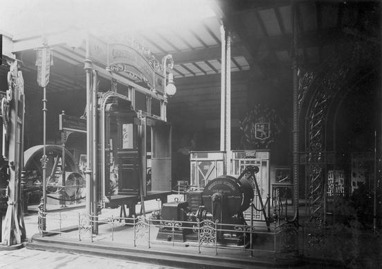 Wisbechs stand ved utstillingen i Paris 1889 (Ingressbilde)