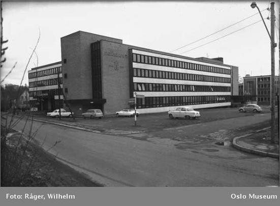 Møllhausne på Skøyen, 1964 (Ingressbilde)