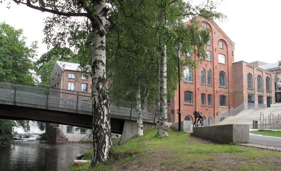 Christiania Seildugsfabrikk - kunsthøyskolene