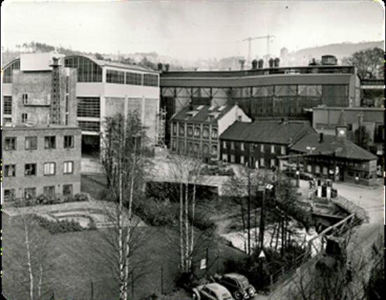 Bikkjetorget rett før vaktbua ble revet ca. 1962