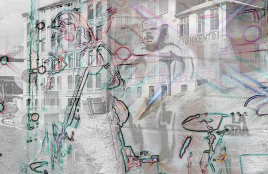 Elvebakken Remix, områdevignett Akerselva Digitalt