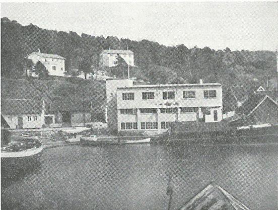 Høllen motorfabrikk ca 1950 (Ingressbilde)