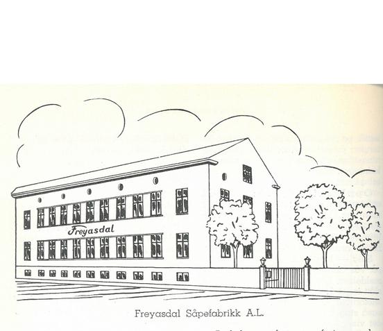 Illustrasjon av Freyasdal Såpefabrikk